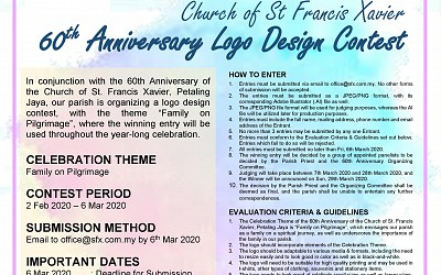 Church of St. Francis Xavier 60th Anniversary Logo Design Contest