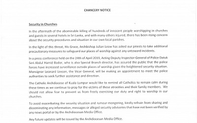 The Chancery Notice