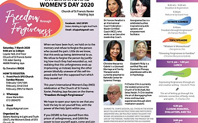 SALT Ministry - International Women's Day on 7th March 2020