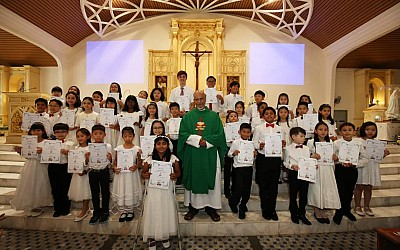 Celebrating First Holy Communion